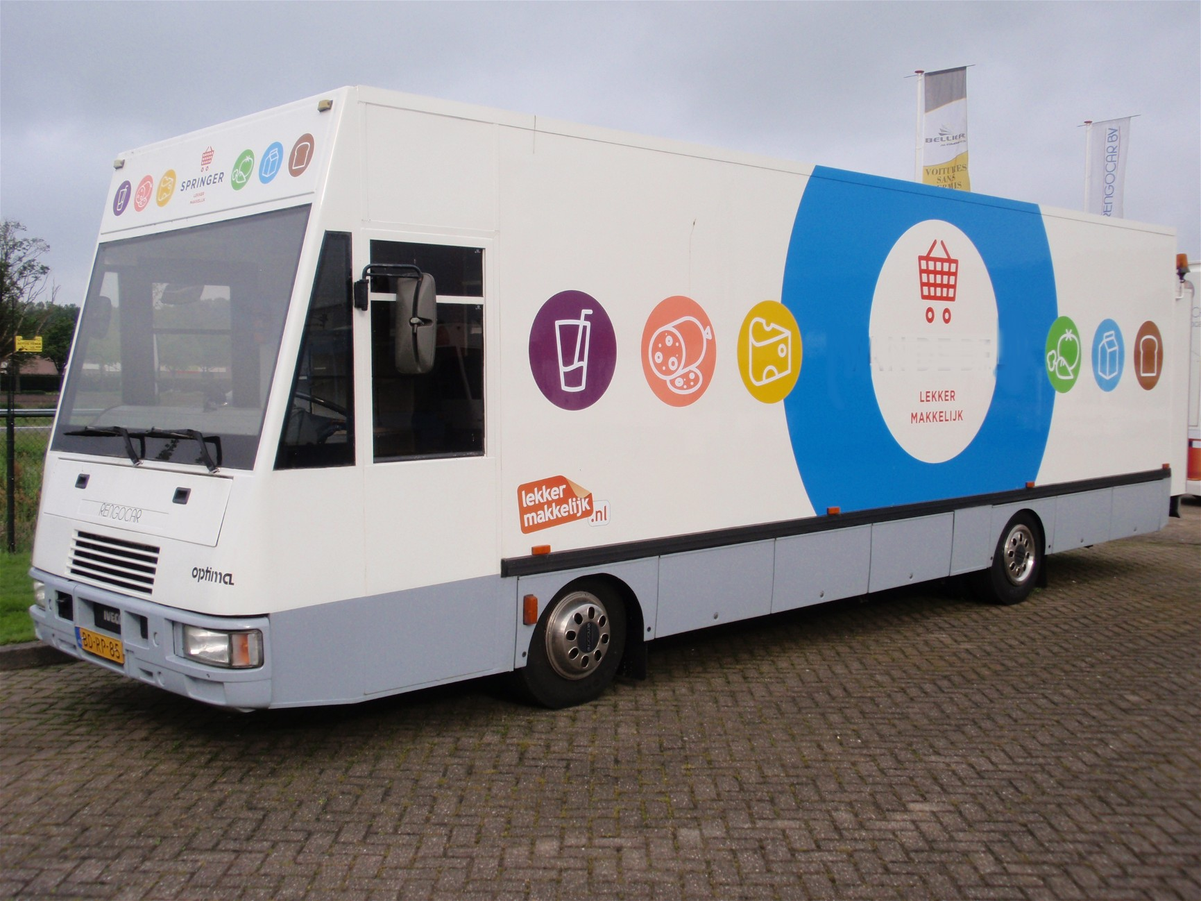 Spijkstaal Optima 9300 Rijdende Winkel - SRV WAGENS